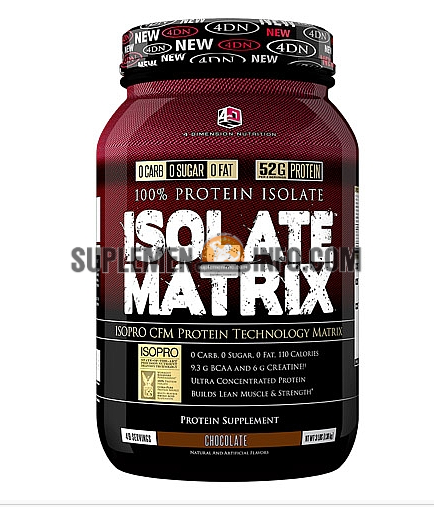 4 Dimension Nutrition Isolate Matrix1