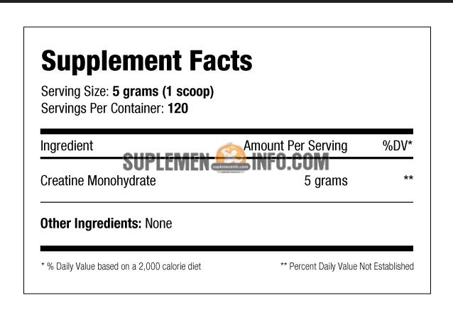 AST Creatine Monohydrate