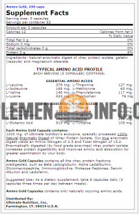Amino Gold Ultimate Nutrition2