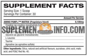 Cutler Nutrition Amino Pump2