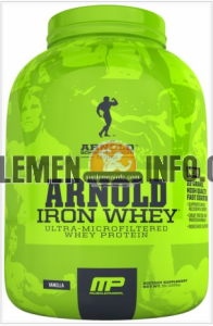 Iron Whey Arnold Schwarzenegger Series