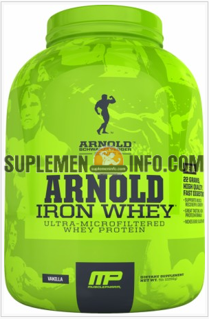 Iron Whey Arnold Schwarzenegger Series1