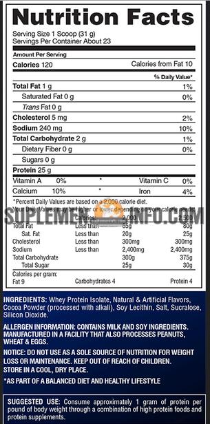 IsoFusion – Gaspari Nutrition2