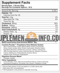 Musclepharm Combat Powder2