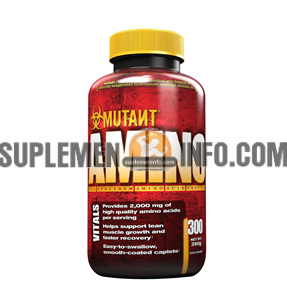 Mutant Amino 300 tablet dan mutant amino 600 tablet