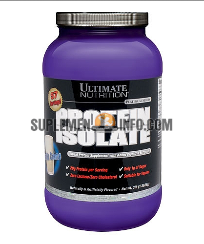 Protein Isolate Ultimate Nutrition1