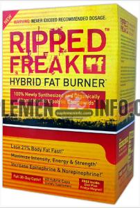Ripped Freak Pharma Freak Fat Burner