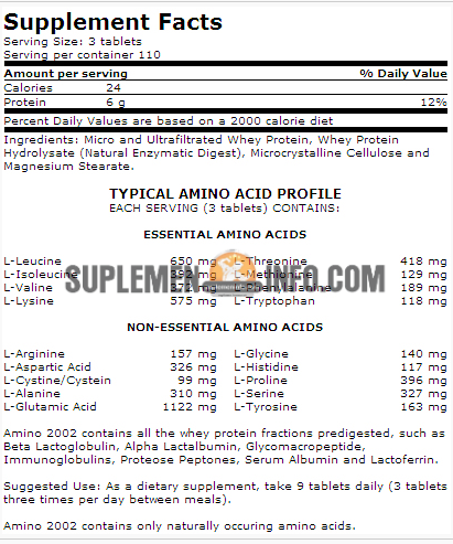 Ultimate Nutrition Amino 20022