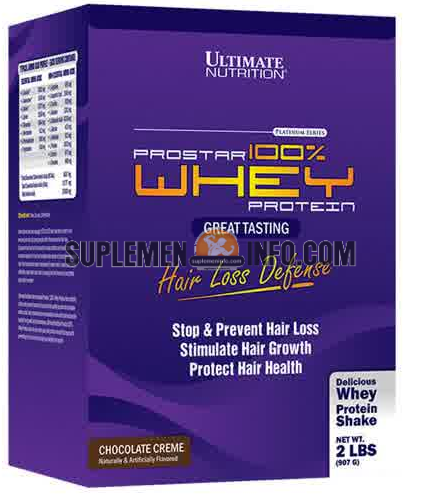 Ultimate Nutrition Prostar 100 Whey Protein Hair Loss Defense2