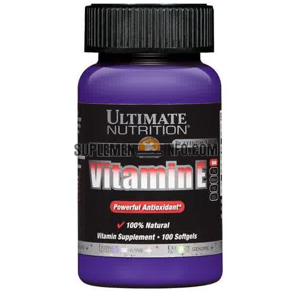 Vitamin E Ultimate Nutrition