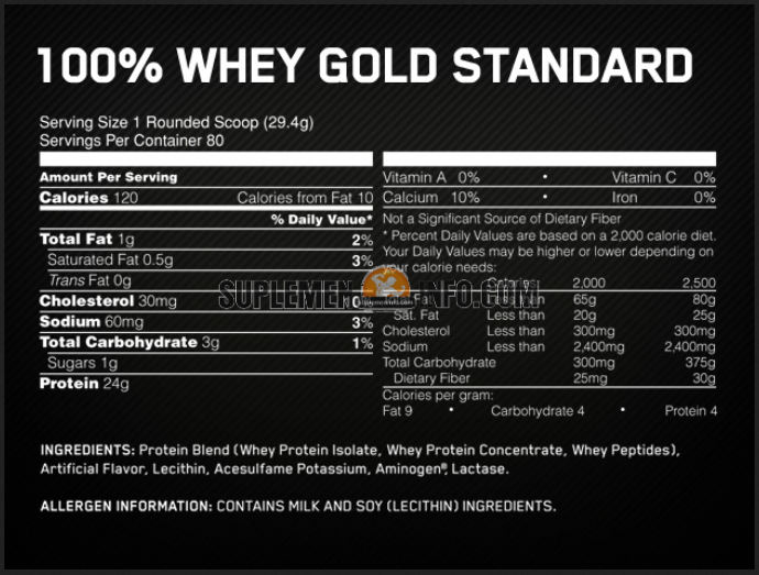Whey Gold Standard 100 Optimum Nutrition2