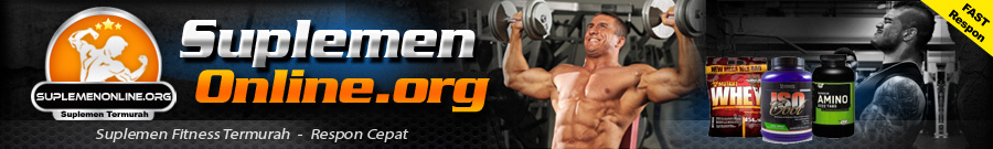 Jual Suplemen Fitness BPOM Murah